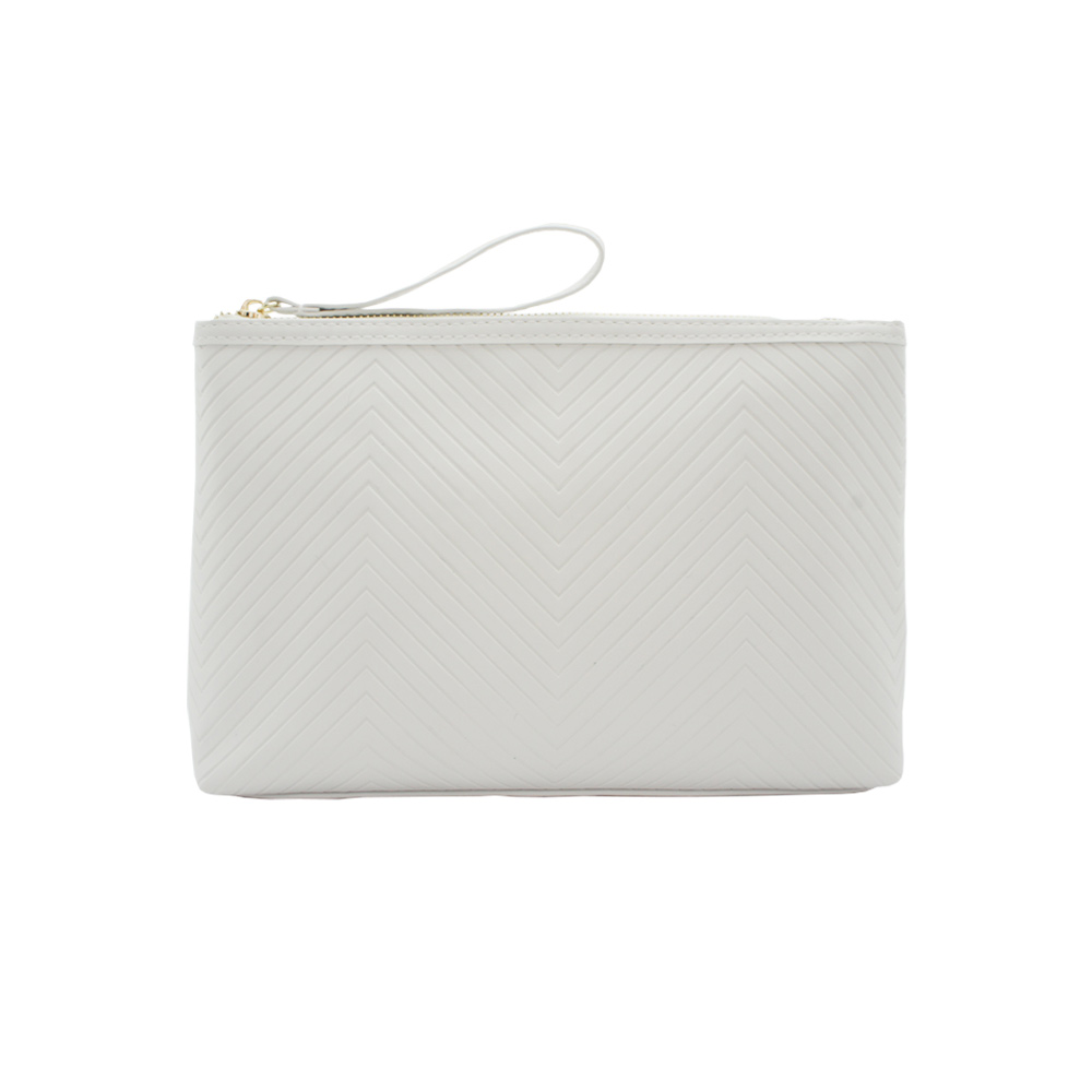 Tinted Colour Cosmetic Bag Beige