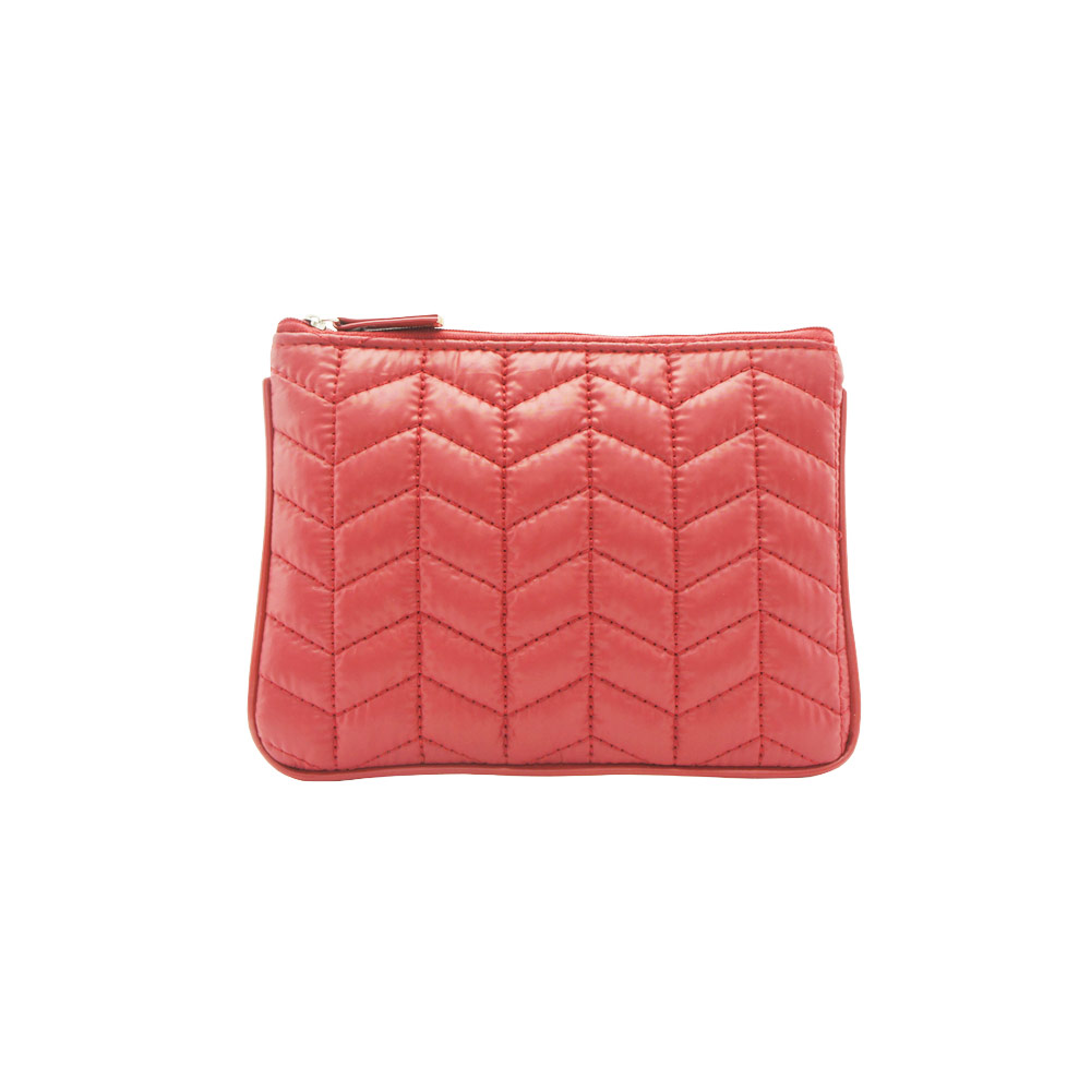 Tinted Colour Cosmetic Bag Peach