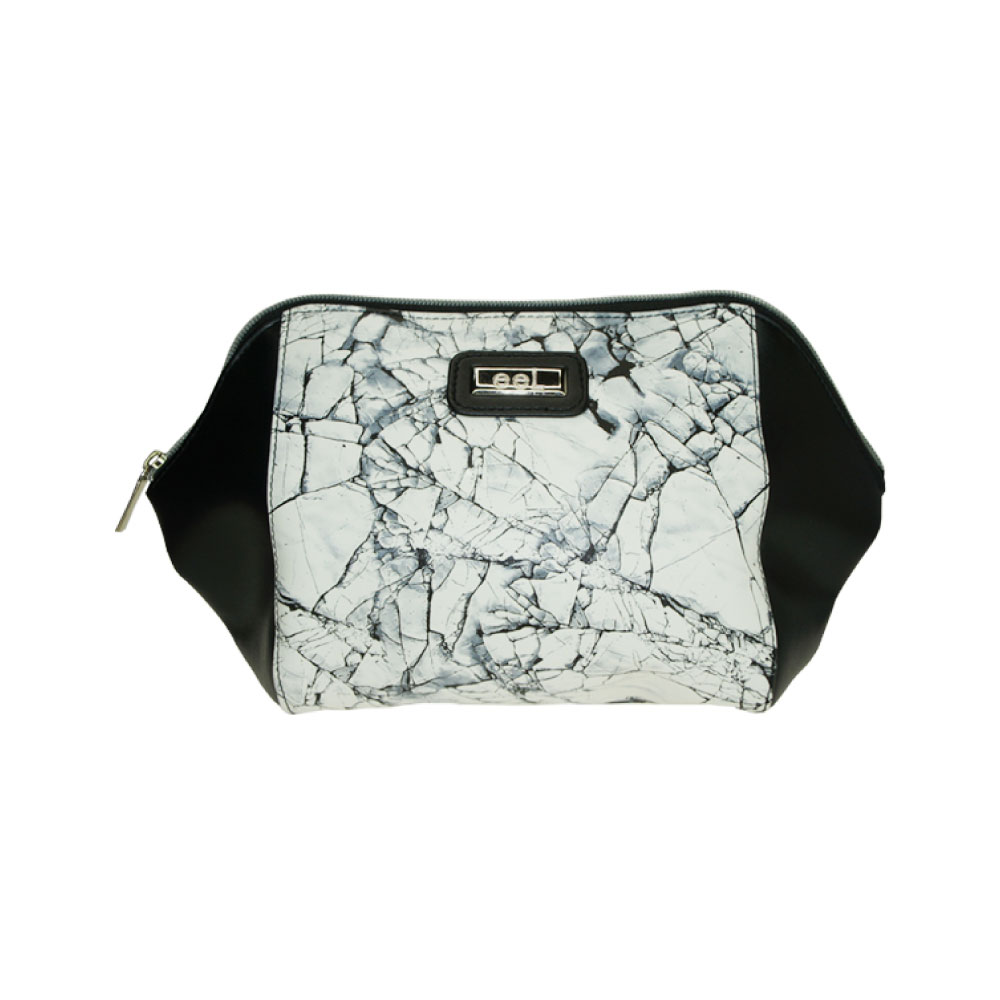 Tinted Colour Cosmetics Bag Marble